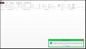 Microsoft Access - Die Datei ist nicht vorhanden, oder Sie haben keine Leseberechtigung für die Datei