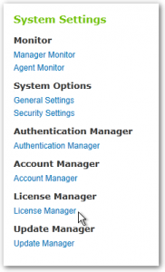 DocAve 6 - System Settings - License Manager