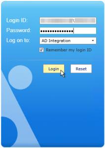 DocAve - Login - AD Integration