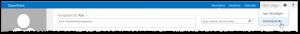 My-Site - Zahnrad (Einstellungen) - Websiteinhalte Button - Websiteeinstellungen nicht vorhanden - SharePoint 2013