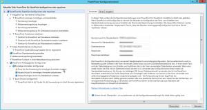 PowerPivot-Konfigurationstool - PowerPivot für SharePoint konfigurieren oder reparieren