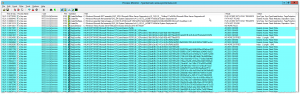 Process Monitor - HKLM\SOFTWARE\Microsoft\Windows NT\CurrentVersion\Perflib - ACCESS DENIED
