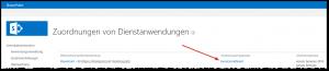 ZA - Zuordnungen von Dienstanwendungen konfigurieren - Anwendungsproxygruppe benutzerdefiniert - SharePoint 2013