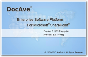 DocAve 6 - About - DocAve 6 SP5 Enterprise