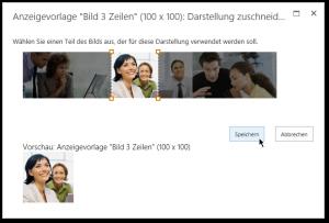Image Renditions - Bearbeiten von Darstellungen - Zu ändernde Formatierung - Darstellung zuschneiden - SharePoint 2013