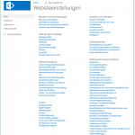 Websiteeinstellungen - Site Settings - _layouts/settings.aspx - SharePoint 2013