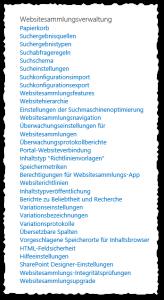 Websiteeinstellungen - Websitesammlungsverwaltung - SharePoint 2013