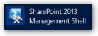 SharePoint 2013 Management Shell - Verwaltungskonsole - Icon 1