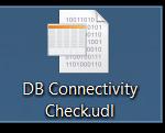 DB Connectivity Check - UDL File - Universal Data Link - Icon - Verbindung zum SQL Server mit einer UDL Datei testen