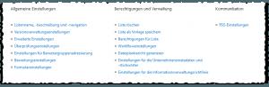Listeneinstellungen - Allgemeine Einstellungen - Berechtigungen und Verwaltung - Kommunikation - Liste - SharePoint 2013