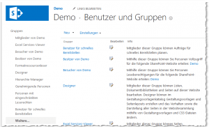 Groups (People and Groups) - Gruppen (Benutzer und Gruppen) - Alle Gruppen - _layouts-groups.aspx - SharePoint 2013