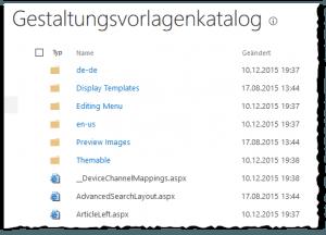 Master Page Gallery - Gestaltungsvorlagenkatalog - _catalogs-masterpage - SharePoint 2013