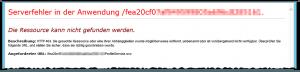 ProfileService.svc - Serverfehler in der Anwendung - Die Ressource kann nicht gefunden werden - HTTP 404 - SharePoint 2013