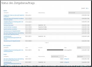 ZA - Check job status - Auftragsstatus überprüfen - _admin-Timer.aspx - SharePoint 2013