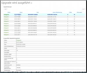 ZA - Check upgrade status - Upgradestatus überprüfen - _admin-UpgradeStatus.aspx - SharePoint 2013