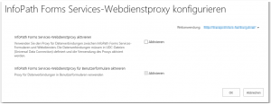 ZA - Configure InfoPath Forms Services Web Service Proxy - InfoPath Forms Services-Webdienstproxy konfigurieren - _admin-ManageFormsServiceProxy.aspx - SharePoint 2013