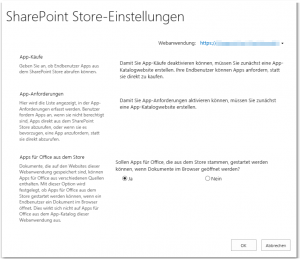 ZA - Configure Store Settings - Store-Einstellungen konfigurieren - _admin-managemarketplacesettings.aspx - SharePoint 2013