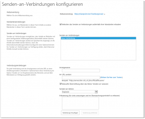 "ZA - Configure send to connections - ""Senden an""-Verbindungen konfigurieren - _admin-OfficialFileAdmin.aspx - SharePoint 2013"
