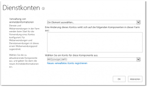 ZA - Configure service accounts - Dienstkonten konfigurieren - _admin-FarmCredentialManagement.aspx - SharePoint 2013
