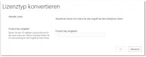 ZA - Convert farm license type - Farmlizenztyp konvertieren - _admin-Conversion.aspx - SharePoint 2013