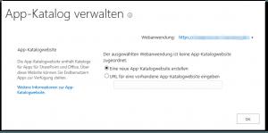 ZA - Manage App Catalog - App-Katalog verwalten - _admin-ManageCorporateCatalog.aspx - SharePoint 2013