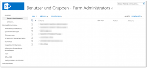 ZA - Manage the farm administrators group - Farmadministratorgruppe verwalten - _layouts-people.aspx - SharePoint 2013