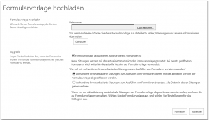 ZA - Upload form template - Formularvorlage hochladen - _admin-UploadFormTemplate.aspx - SharePoint 2013
