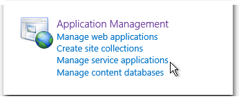 ZA - CA - Application Management - Manage service applications - Anwendungsverwaltung - Dienstanwendungen verwalten - SharePoint 2013