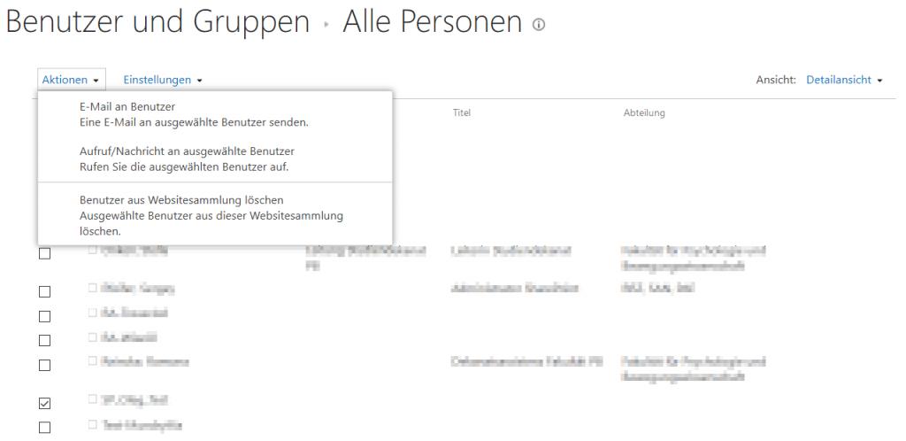 Benutzer und Gruppen - Alle Personen - _layouts-15-people.aspx-MembershipGroupId-0 - Benutzerinformationsliste - SharePoint 2013